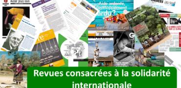 Revues consacrées à la solidarité internationale