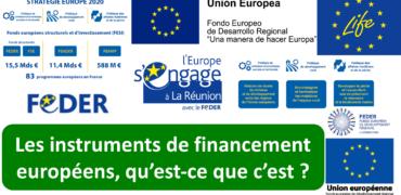 Les instruments de financement européens, qu'est-ce que c'est ?