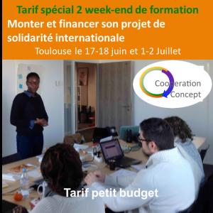 formation2 week petit budget