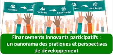 financements innovants participatifs Un panorama des pratiques et perspectives de développement
