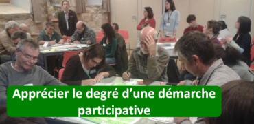 Apprécier le degré d'une démarche participative : comment utiliser l'échelle d'Arnstein